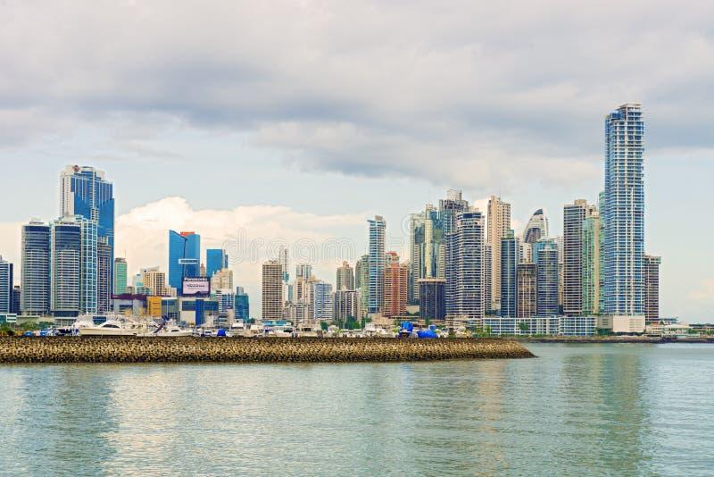 Orizzonte di Panama City immagini stock libere da diritti