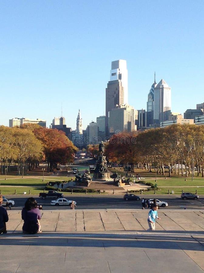 Orizzonte di Philly immagine stock