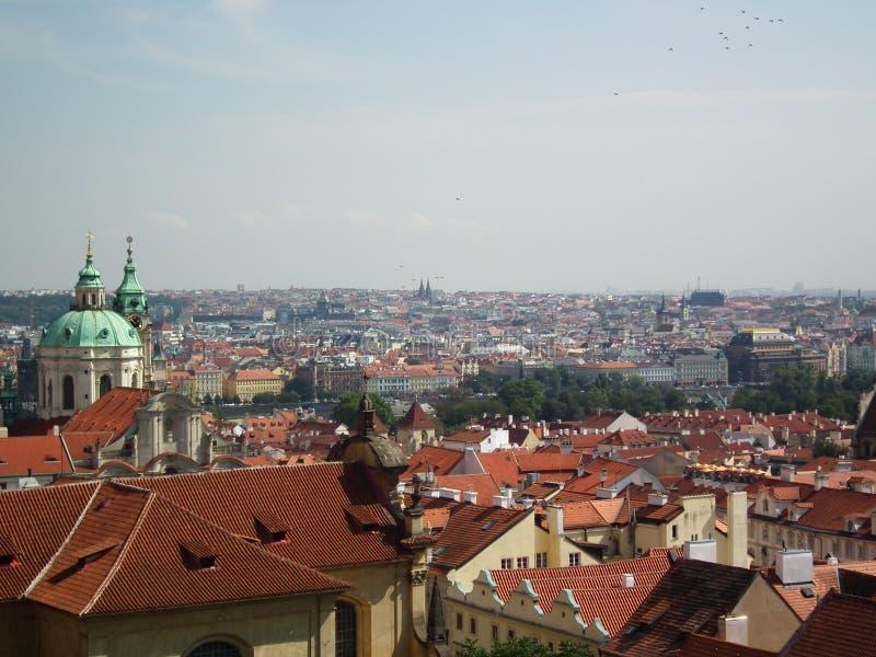 Orizzonte di Praga fotografia stock libera da diritti