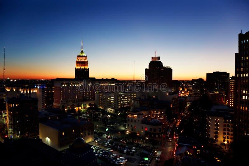 Orizzonte di San Antonio immagini stock