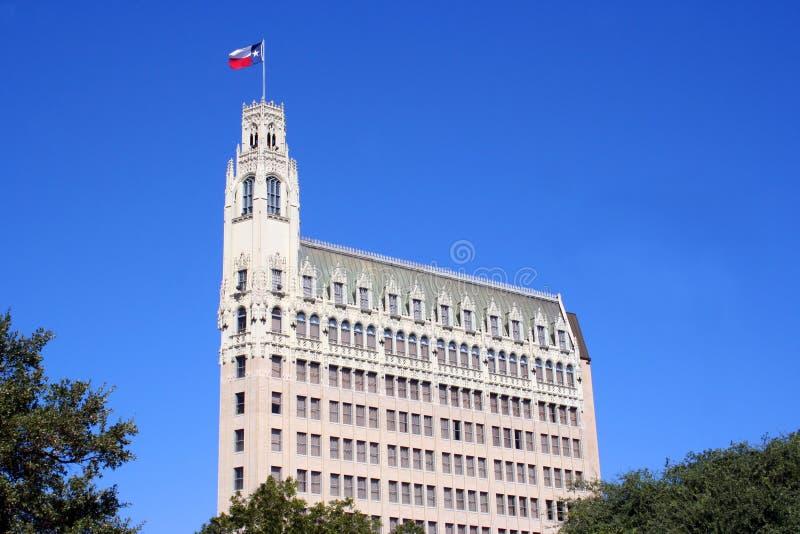 Orizzonte di San Antonio il Texas fotografia stock libera da diritti