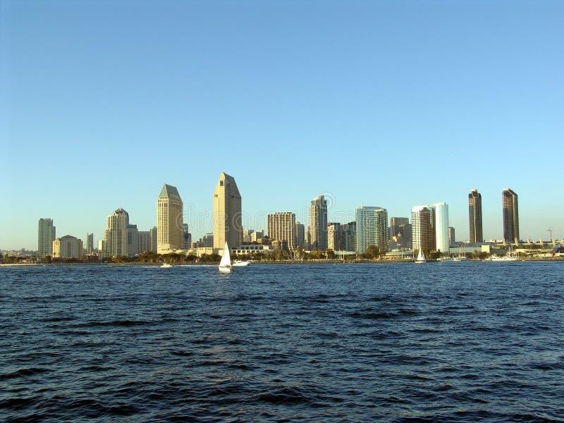 Orizzonte di San Diego immagine stock