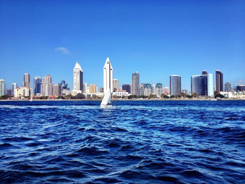 Orizzonte di San Diego immagini stock libere da diritti