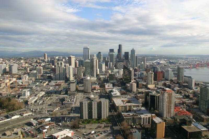 Orizzonte di Seattle   fotografie stock