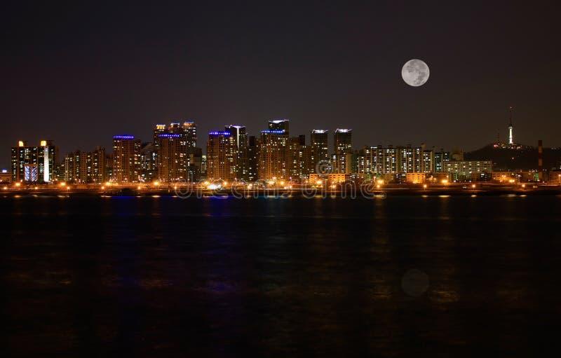 Orizzonte di Seoul immagini stock