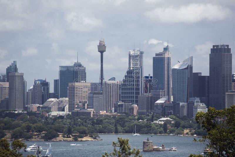 Orizzonte di Sydney immagine stock libera da diritti