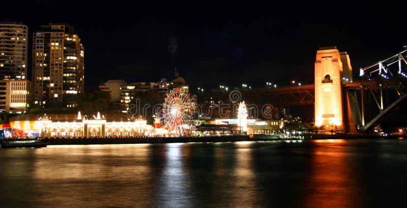 Orizzonte di Sydney, Australia fotografia stock