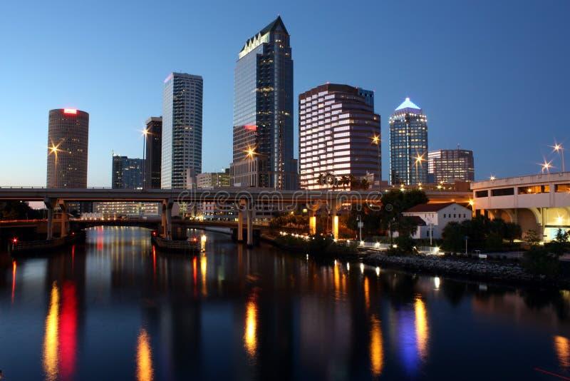 Orizzonte di Tampa immagine stock