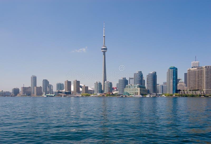 Orizzonte di Toronto immagini stock libere da diritti