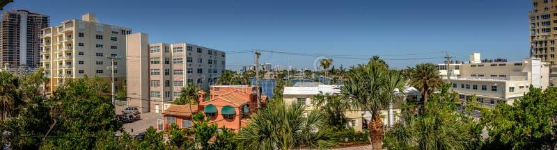 Orizzonte Intracoastal del Fort Lauderdale immagine stock libera da diritti