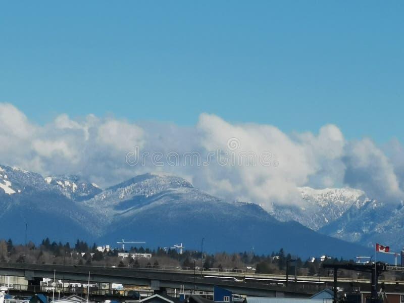 Orizzonte molto buon di Vancouver fotografia stock libera da diritti