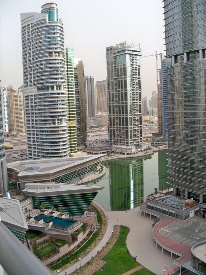 Orizzonte UAE del Dubai fotografia stock libera da diritti