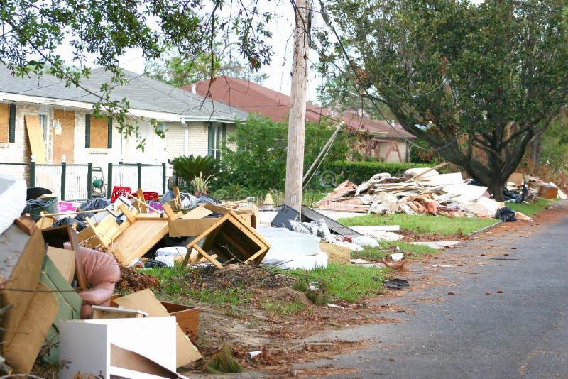 Orkaan Katrina5 stock foto's