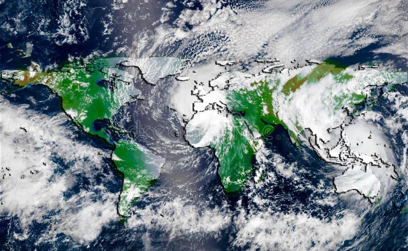 orkan royaltyfri bild