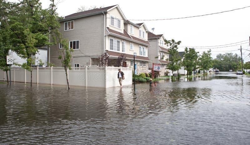 orkan irene fotografering för bildbyråer