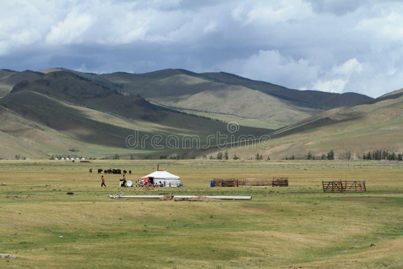 Orkhon谷国家公园蒙古 免版税库存图片