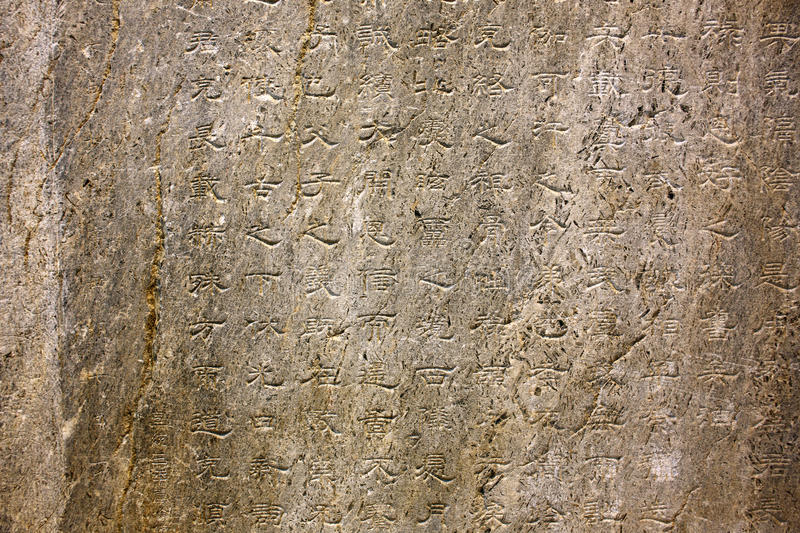 Orkhon inscriptions, oldest turkic monuments. Orkhon inscriptions inside kultegin's memorial complex, mongolia. Those scripts are the oldest form of a Turkic royalty free stock photography