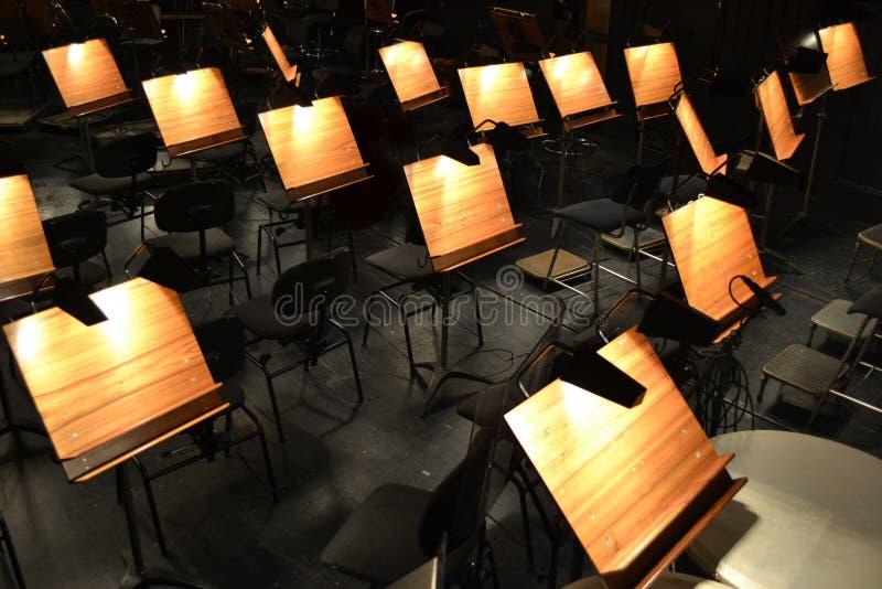 orkiestra zdjęcie royalty free