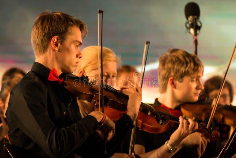 Orkiestra Symfoniczna Leuven uniwersytet zdjęcie royalty free