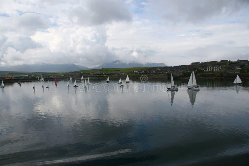 Orkney regatta arkivfoto