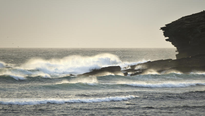 Download Orkney Surf, Marwick Head RSPB Stock Photo - Image: 23552778