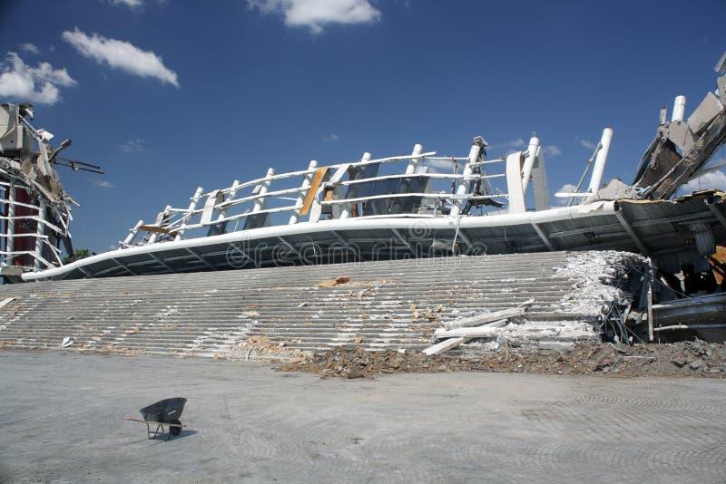 Orlando Amway Arena Demolition (4) stock photography