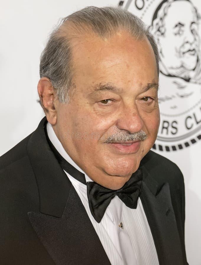 Carlos Slim royalty free stock photos