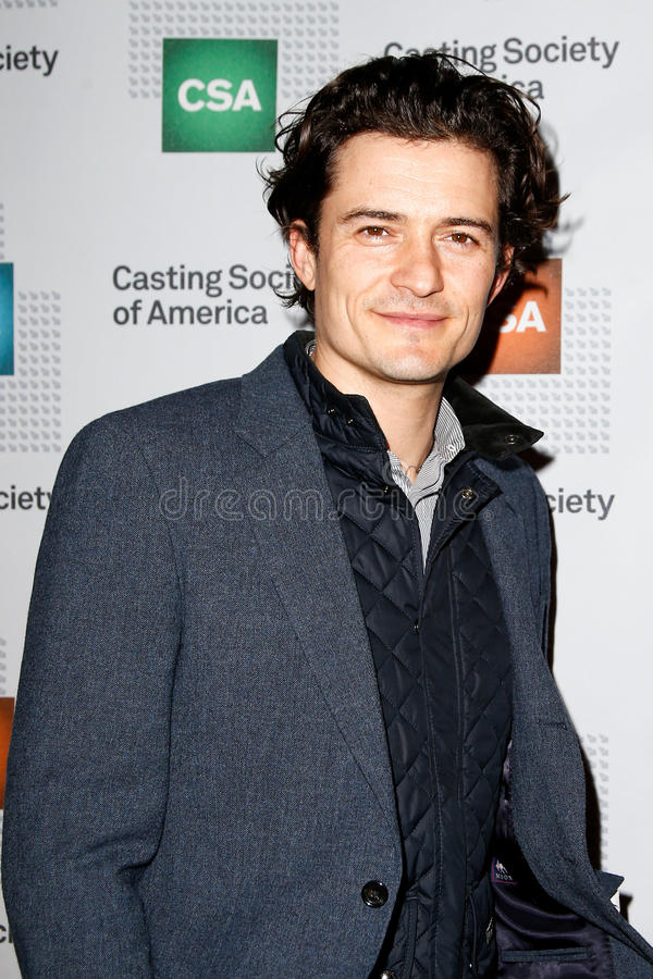 Orlando Bloom. NEW YORK-NOV 18; Actor Orlando Bloom attends the CSA 29th Annual Artios Awards ceremony at the XL Nightclub on November 18, 2013 in New York City stock images