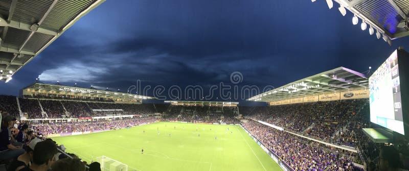 Orlando City Stadium lizenzfreie stockfotografie