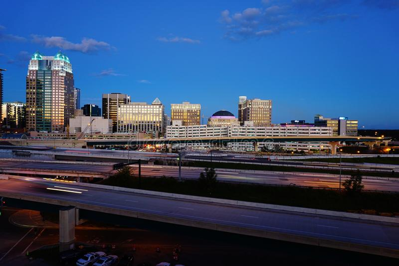 Orlando Downtown royalty-vrije stock foto