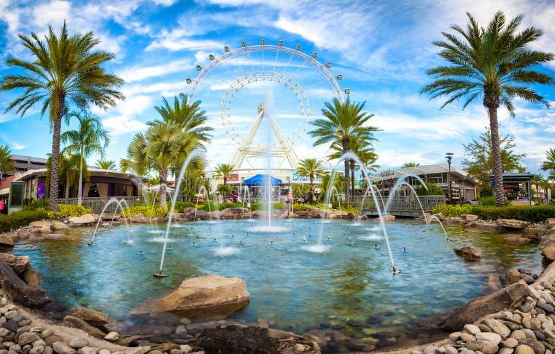 Orlando et la plus grande observation roulent sur la Côte Est image stock