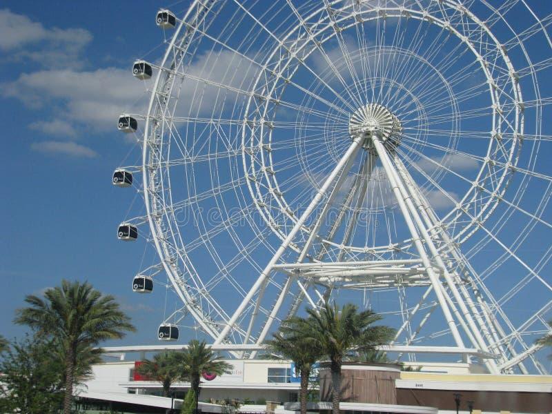 Orlando Ferris Wheel fotografie stock
