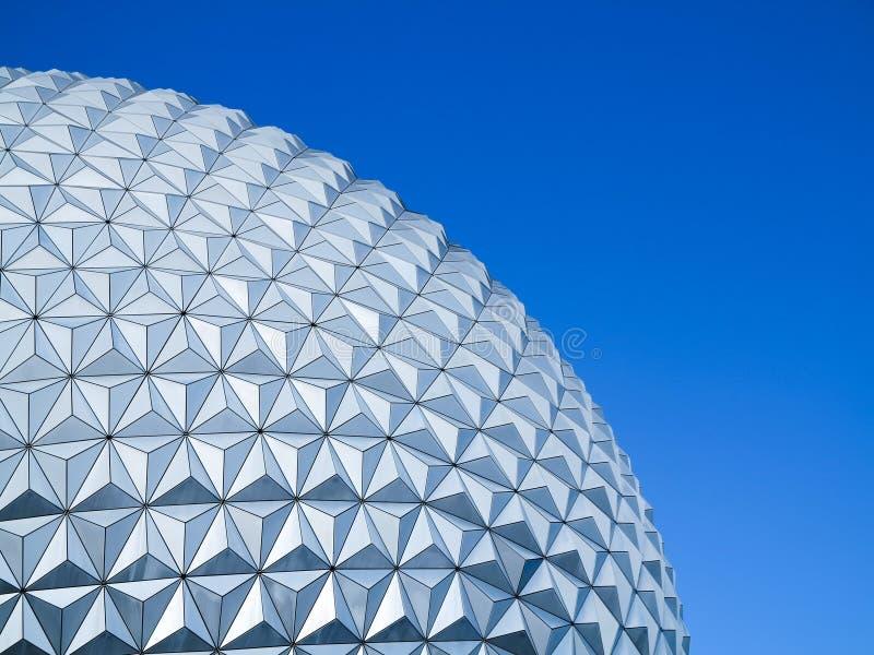 Epcot Ball Close-Up royalty free stock image