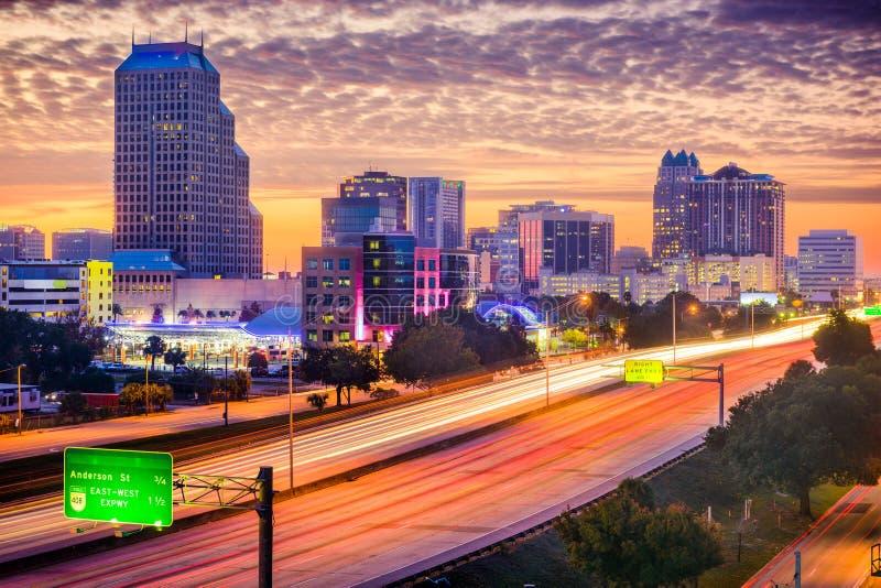 Orlando Florida horisont royaltyfri foto