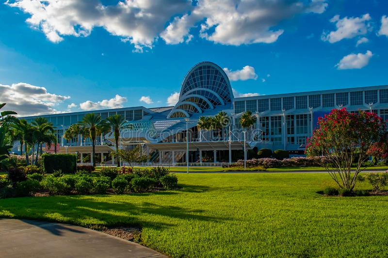 Convention Center in International Drive area 4. Orlando, Florida. May 26, 2019. Convention Center in International Drive area 4 stock images