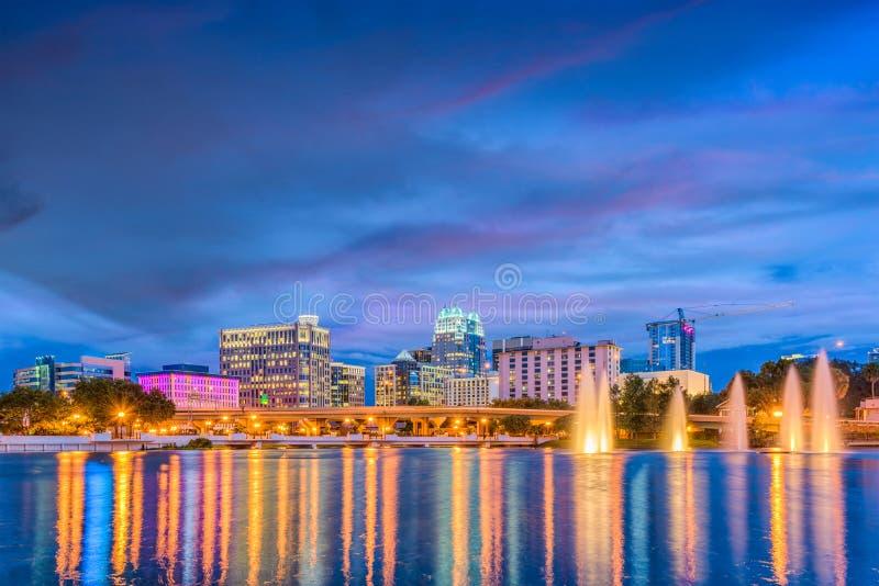 Orlando Florida Skyline royalty-vrije stock foto