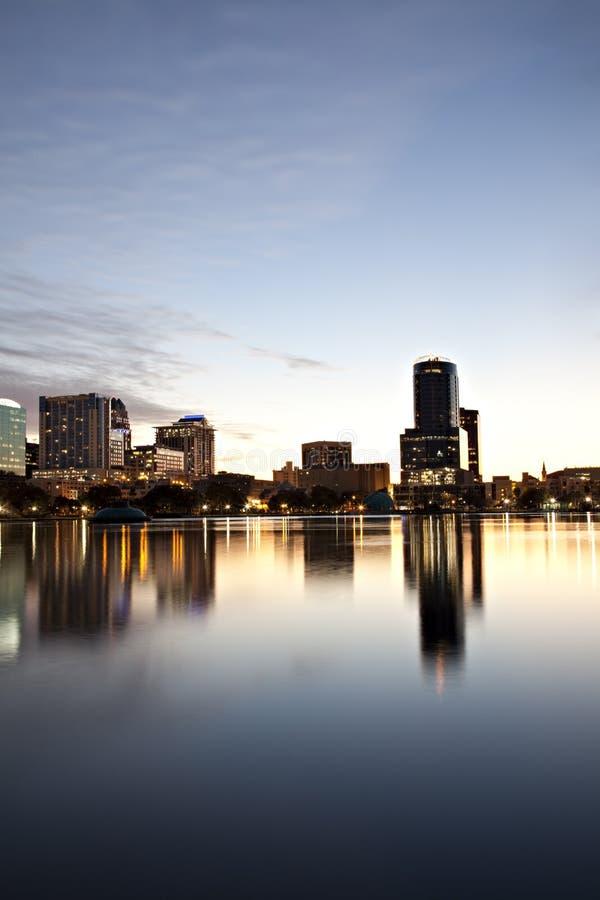 Download Orlando, Florida Twilight Skyline Stock Photo - Image of scene, apartment: 13362264