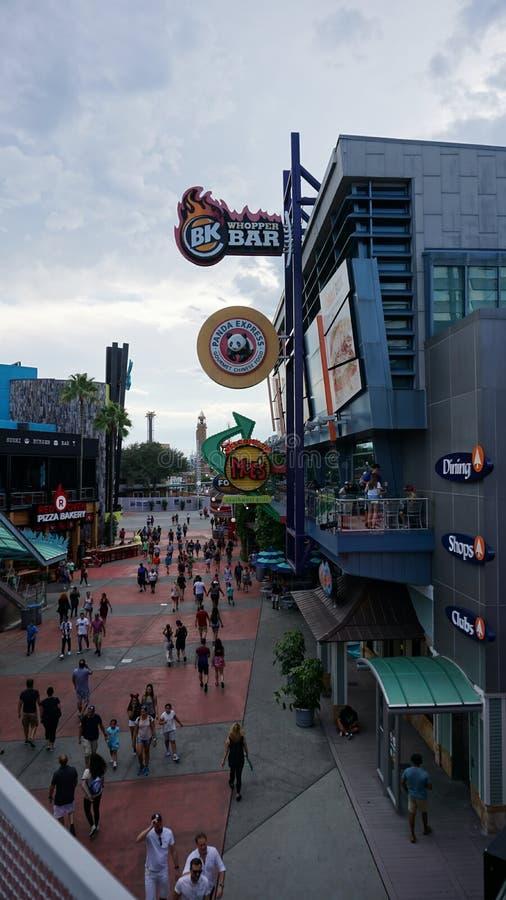 Orlando, Florida, U.S.A. - 15 settembre 2018 - notti di orrore di Universal Studios Halloween immagini stock libere da diritti