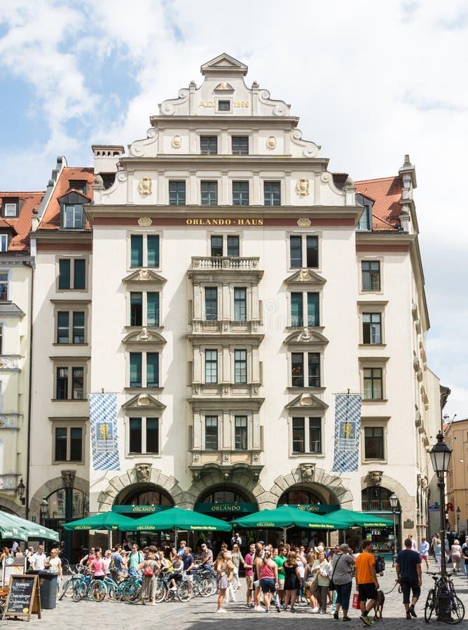 Orlando Haus orlando haus in munich editorial image image of pedestrian 57412290