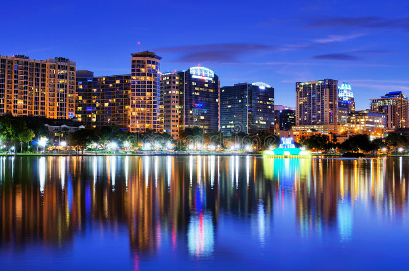 Orlando horisont arkivfoton