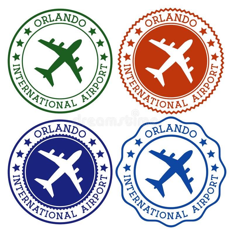 Orlando-internationaler Flughafen vektor abbildung