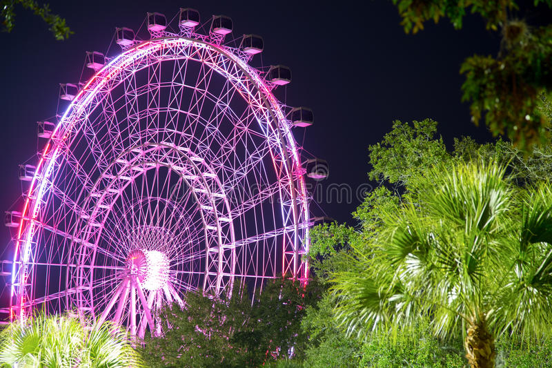 Download Orlando And The Largest Observation Wheel On The East Coast Editorial Image - Image: 83713220
