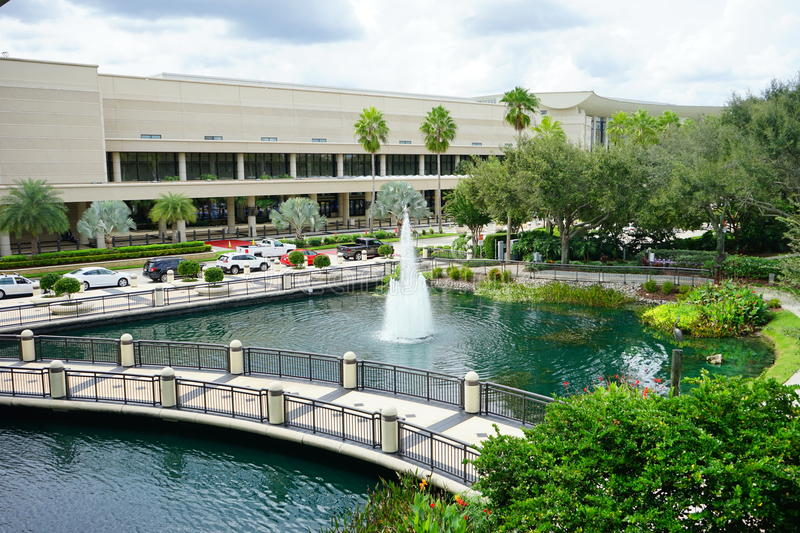 Orlando Orange County Convention Center. royalty free stock photography