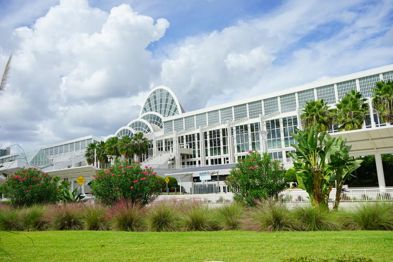 Download Orlando Orange County Convention Center. Stock Image - Image: 61428563