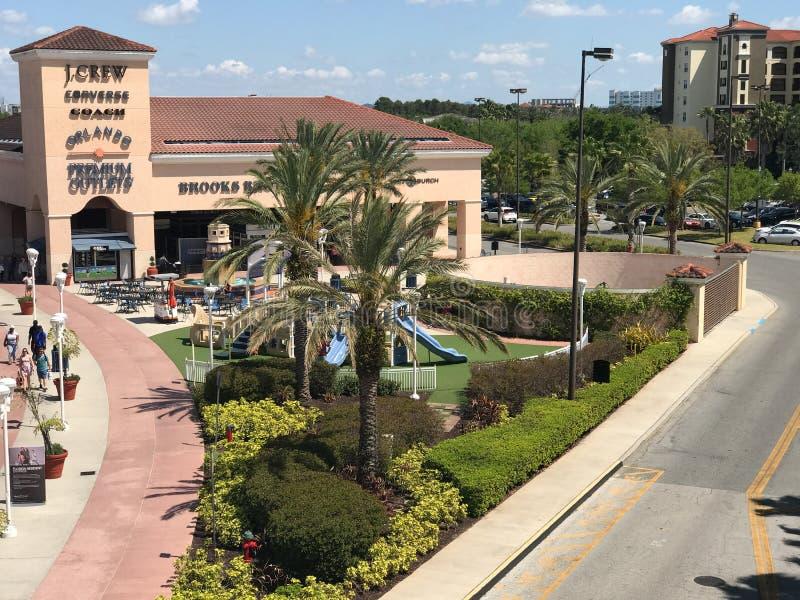 Orlando Premium Outlets, Orlando, FL fotografie stock
