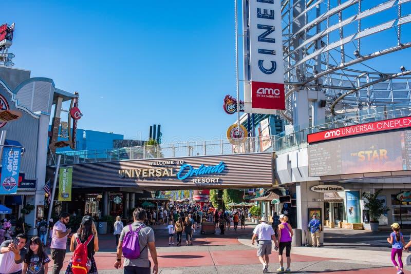 Orlando Resort universal en la Florida fotos de archivo libres de regalías