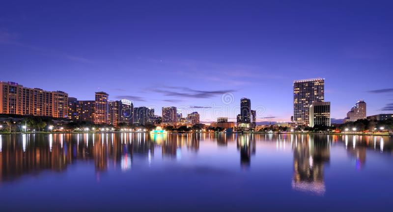 Orlando Skyline Stock Images