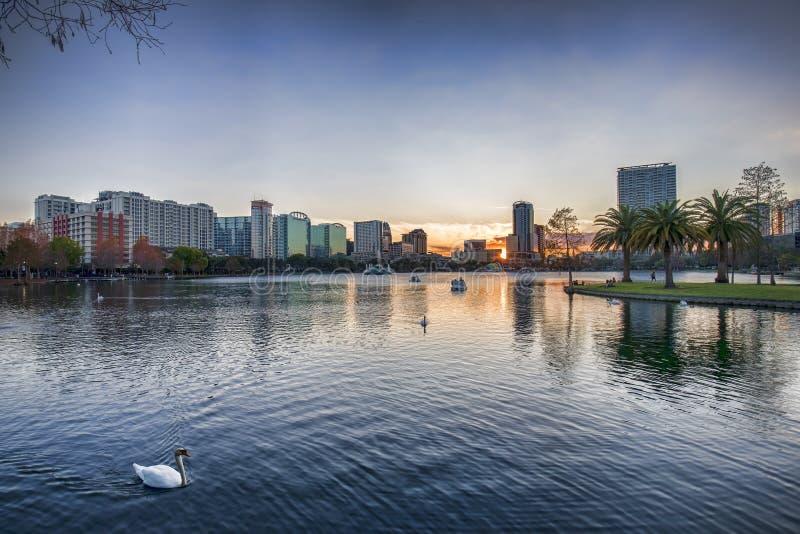 Orlando Skyline royalty-vrije stock foto