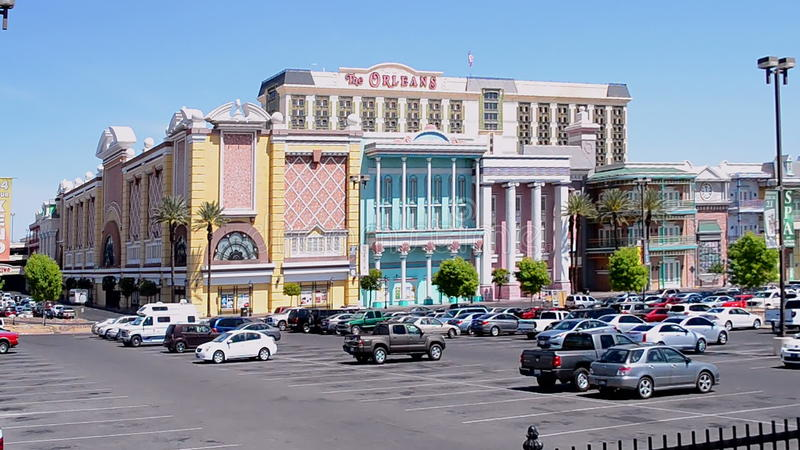 Orleans kasyno w Las Vegas i hotel, usa, zbiory wideo