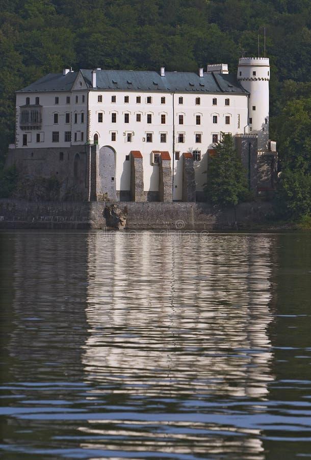 Orlik castle stock photos
